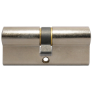 Nickel Euro Cylinder Lock - Key Alike - Box of 10