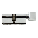 Nickel Euro Cylinder Lock - Thumbturn Inside - Box of 10